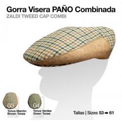 Gorra Visera Paño...
