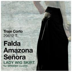 Traje Corto Falda Amazona...