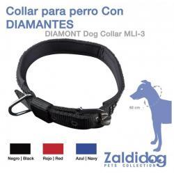 Perro Collar Con Diamantes...