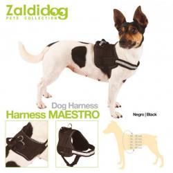 Perro Harness Maestro Negro