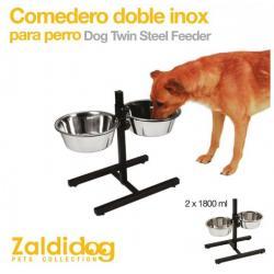 Perro Comedero Doble Inox...