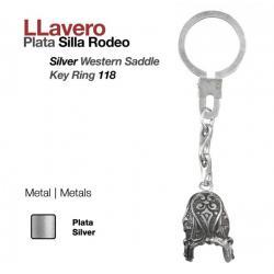 Llavero -plata- Silla...