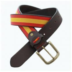 Cinturón Piel & Lona...