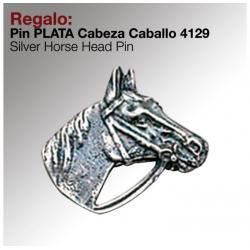 Regalo Pin -plata- Cabeza...