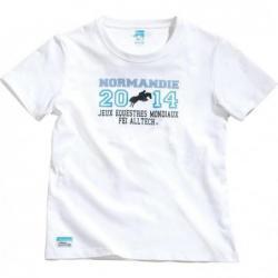 """Camiseta EQUITHÈME """"Jeux..."""
