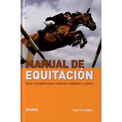 LIBRO MANUAL DE EQUITACIÓN,...