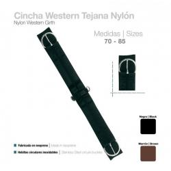 Cincha Western Tejana...
