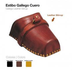 Estribo Gallego Cuero