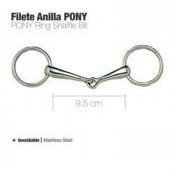 Filete Anilla Inox Pony 21239
