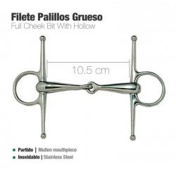 FILETE PALILLOS GRUESO INOX...