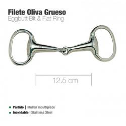 Filete Oliva Inox Grueso...