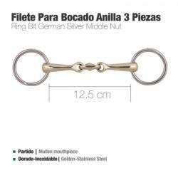 FILETE PARA BOCADO ANILLA 3...