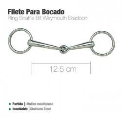 FILETE PARA BOCADO INOX 212402