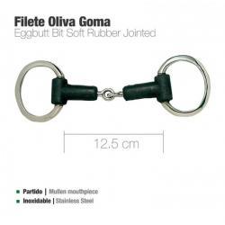 Filete Oliva Inox Goma...