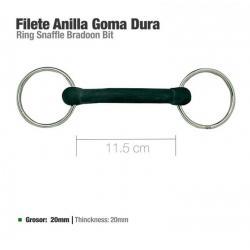 Filete Anilla Goma Dura...