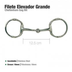 Filete Elevador Inox...