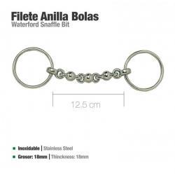 Filete Anilla Inox Bolas...