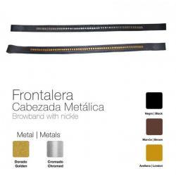 Frontalera Cabezada Metálica