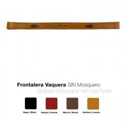 Frontalera Vaquera Sin...
