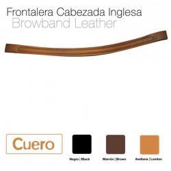 Frontalera Cabezada Cuero...